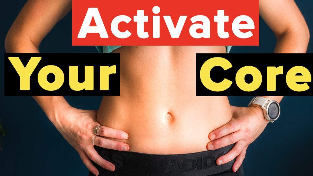 how to activate and engage your core for beginners